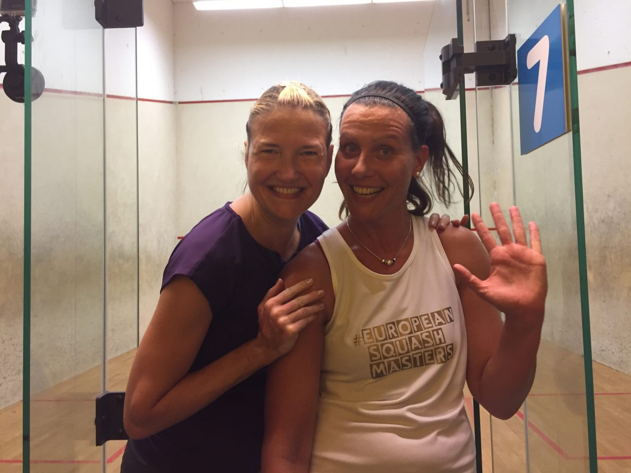 European Masters: Fitness, finesse and fiery fortitude on display from squash's senior citizens - Squash Mad