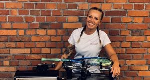 Stringing: Malgorzata Cerlich adds another string to her bow