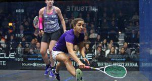 Raneem El Welily halts reigning champion Sarah-Jane Perry