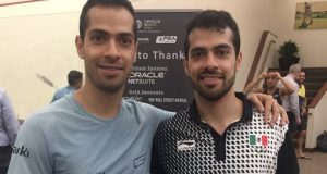 Mexico's Salazar twins advance to second round of Oracle NetSuite Open