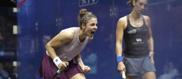 Hania El Hammamy stuns Camille Serme to reach World semi-finals