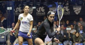 Husband and wife Ali Farag and Nour El Tayeb aim for another historic double