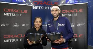 Top seeds Mohamed ElShorbagy and Raneem El Welily win Oracle NetSuite Open