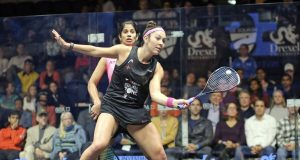 Amanda Sobhy carries home hopes into US Open quarter-finals