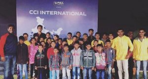 Spirit of World Squash Day shines in India as Ritwik Bhattacharya teaches the game to tribal children