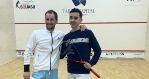 Squash Mad Exclusive: Gregory Gaultier gets back on court in France