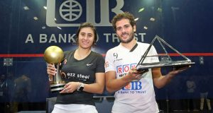 Nour El Sherbini takes fourth world title after producing power and perfection at the Pyramids