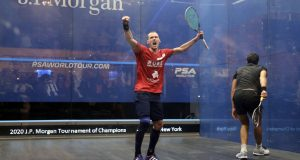 """""""I feel like a kid again,"""" says Gregory Gaultier as 37-year-old French ace celebrates wildly after ToC comeback win"""