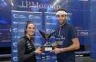 Camille Serme and Mohamed ElShorbagy take ToC titles
