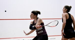 Sarah-Jane Perry beats Joelle King to set up a Cleveland Classic clash with Nour El Tayeb