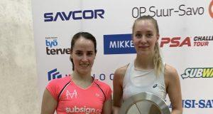 Milou van der Heijden wins Finnish Open title