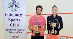 Edinburgh finals: Donna wins another marathon as hubby Greg falls to Karim