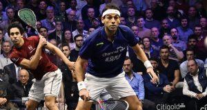 World champion Tarek Momen faces tough time at Canary Wharf