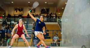 Top seeds march through on day one of College Women's Team Championship