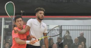 Al Tamimi downs defending champ Abouelghar as seeds fall in Detroit