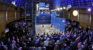 Canary Wharf and Black Ball will carry on as PSA suspend World Tour until end of April due to Covid-19 virus