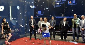 Black Ball Open: Raneem El Welily tops a glittering draw