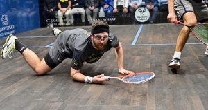 British legends bow out as Shorbagy survives Castagnet scare at Canary Wharf