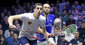 Ali Farag and Mohamed ElShorbagy set up a real Canary Wharf classic