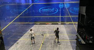 Repeat final in week three of Unsquashable Premier League