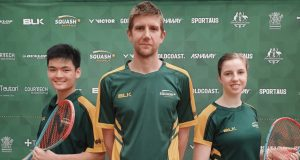 Squash Australia: Beating the lockdown with energy and ideas