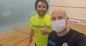 Squash-mad doctor writes from the heart of the Italian Covid-19 epicentre