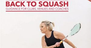 England Squash guidelines for a safe and cautious return to court