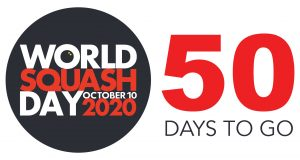 World Squash Day: 50 days to go until squash takes to the streets!