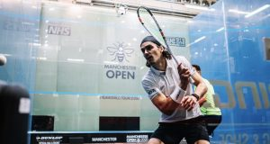 Paul Coll and Tarek Momen set up quarter-final clash in Manchester