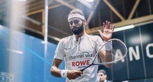 Mohamed ElShorbagy stops Superman Paul Coll to reach first post-lockdown final