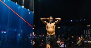 Asal collars Coll in Cairo marathon