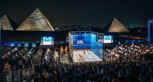 El Sherbini and Farag Capture CIB Egyptian Open Trophies at Great Pyramid of Giza