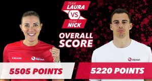 Team Laura vs Team Nick: Massaro's team build an early lead