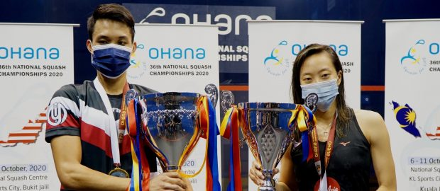 It's four national titles each for Low Wee Wern and Ivan Yuen