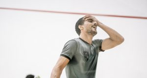 Hesham halts champion Gawad as stars crash in Egyptian Open