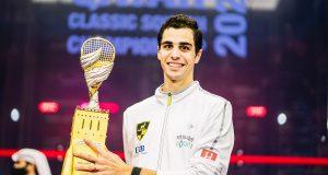 Ali Farag strengthens his lead in men's CIB Road to Egypt standings