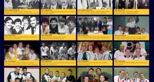 World Team champions feature in free poster from World Squash Library