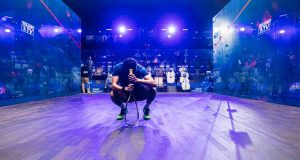World No.41 Youssef Ibrahim takes out top seed Mohamed ElShorbagy in Qatar stunner